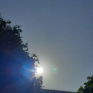 Sta uscendo il sole