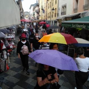 Aosta pioggia