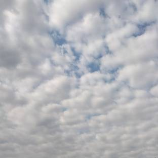 Copiose nuvole a Torino