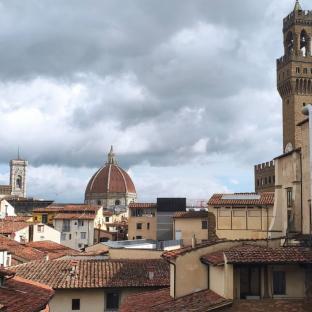 Vista tetti dalla galleria uffizi