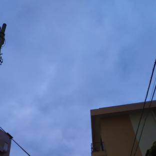 Palermo molto nuvoloso con vento