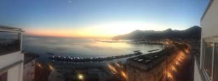 Salerno al tramonto