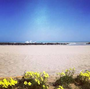 Spiaggia finissima e dorata