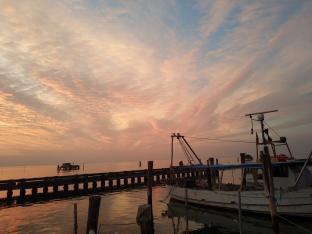Pellestrina tramonto settembrino