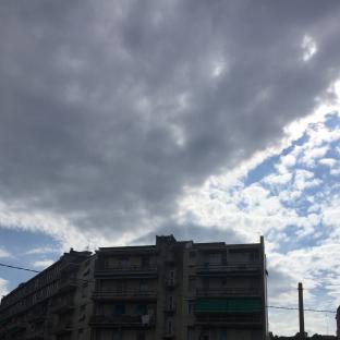 Albisola ancora nuvoloso