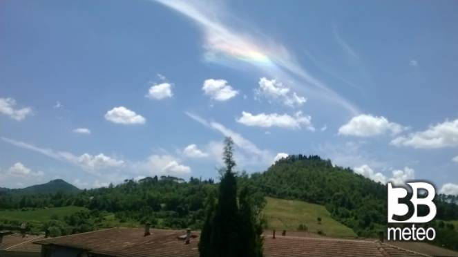 Arcobaleno sulle Melaie