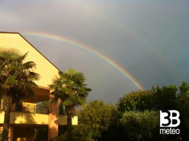 Arcobaleno Suggestivo A Bellaria Foto Gallery 3b Meteo