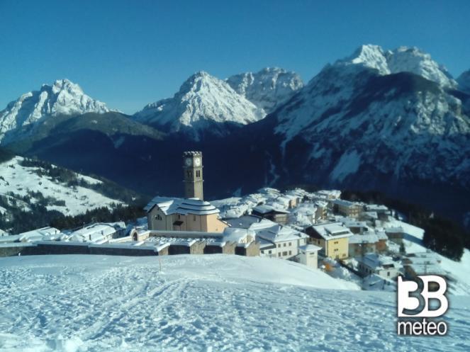 Paesaggio invernale 2014 foto gallery 3b meteo for Disegni paesaggio invernale