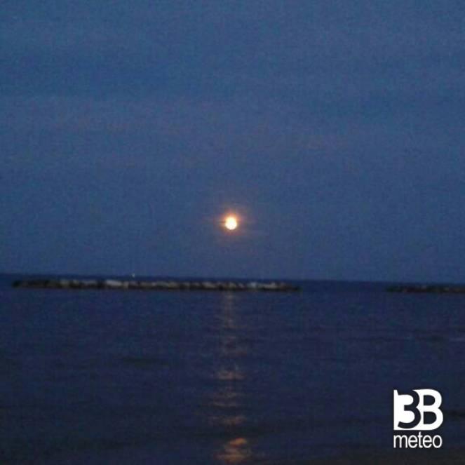 Luna Piena Sul Mare Foto Gallery 3b Meteo