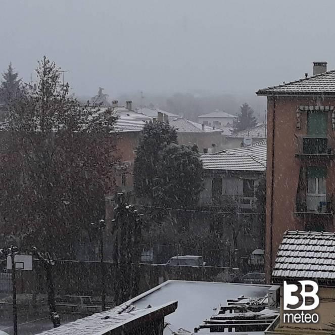 Maltempo Toscana, codice arancione per neve Appennino e Alto Mugello