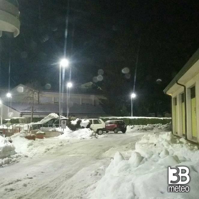 Inzia dinuovo a nevicare