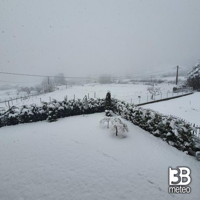 Tempesta di neve a Ovada