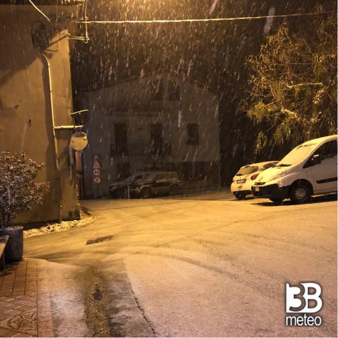Cassinassa sotto la neve