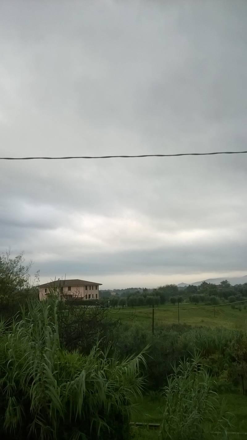 oggi molto nuvoloso