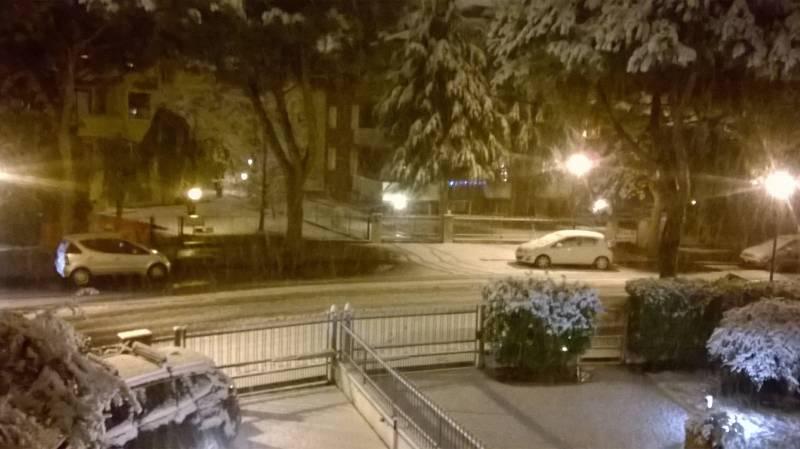 Foto Meteo: Nevicata Ad Abano Terme « 3B Meteo