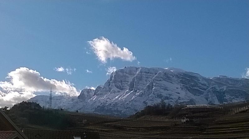 Foto Meteo: Vista Sulla Paganella Da Trento « 3B Meteo