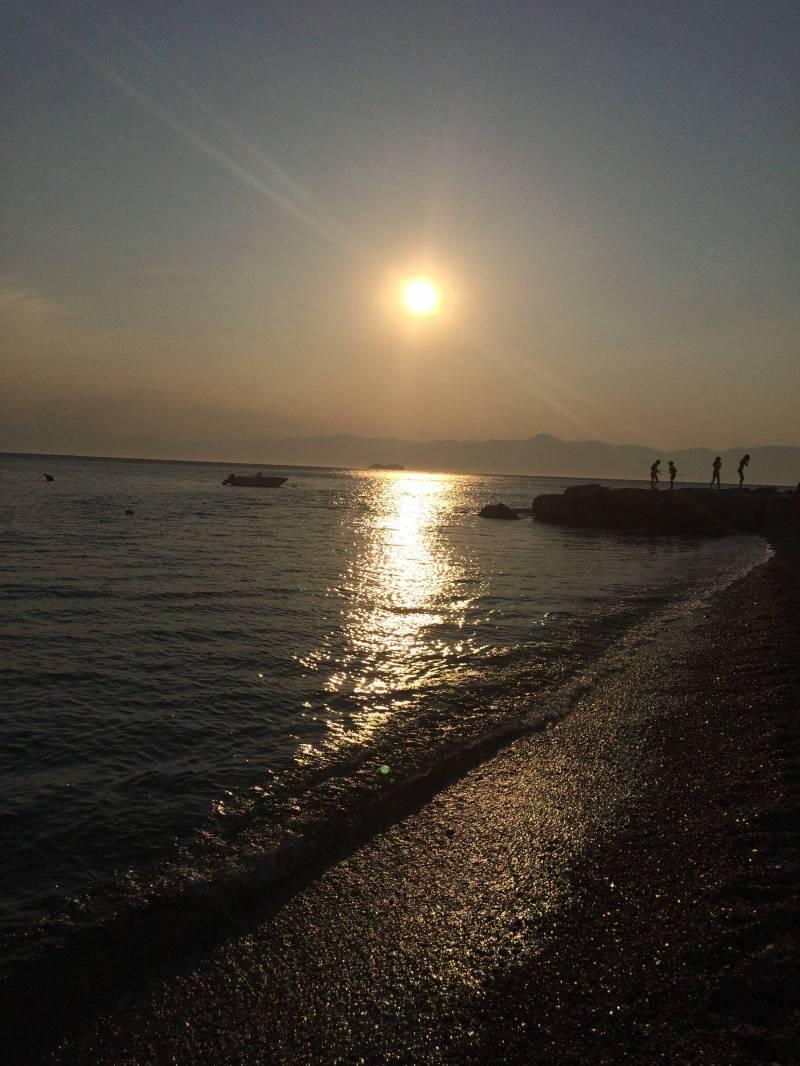 Tramonto Ionio Sea