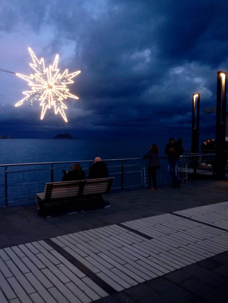 Feste natalizie sul molo