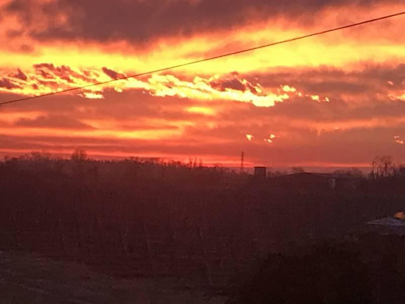 Rosso di sera buon tempo si spera