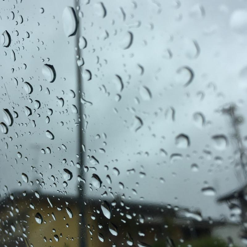 Scende la pioggia su di noi