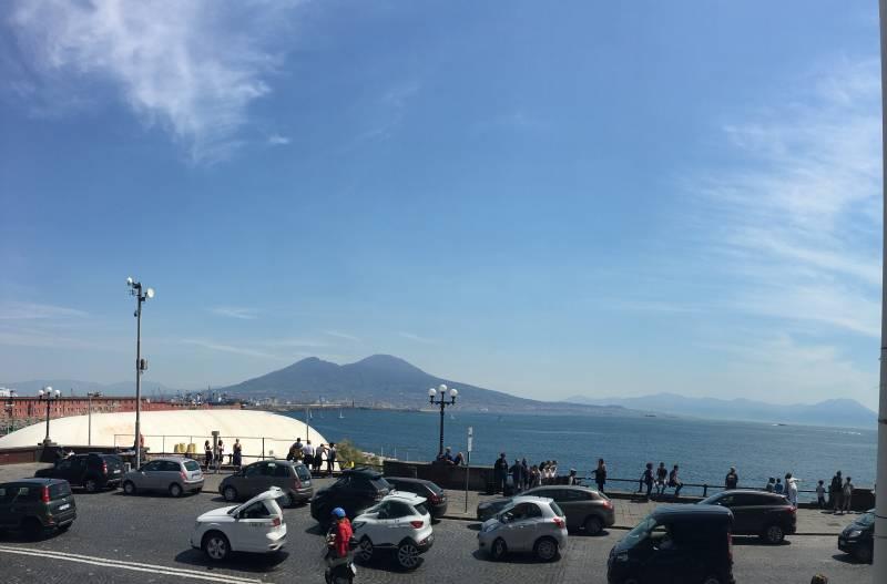 Napoli vista vesuvio