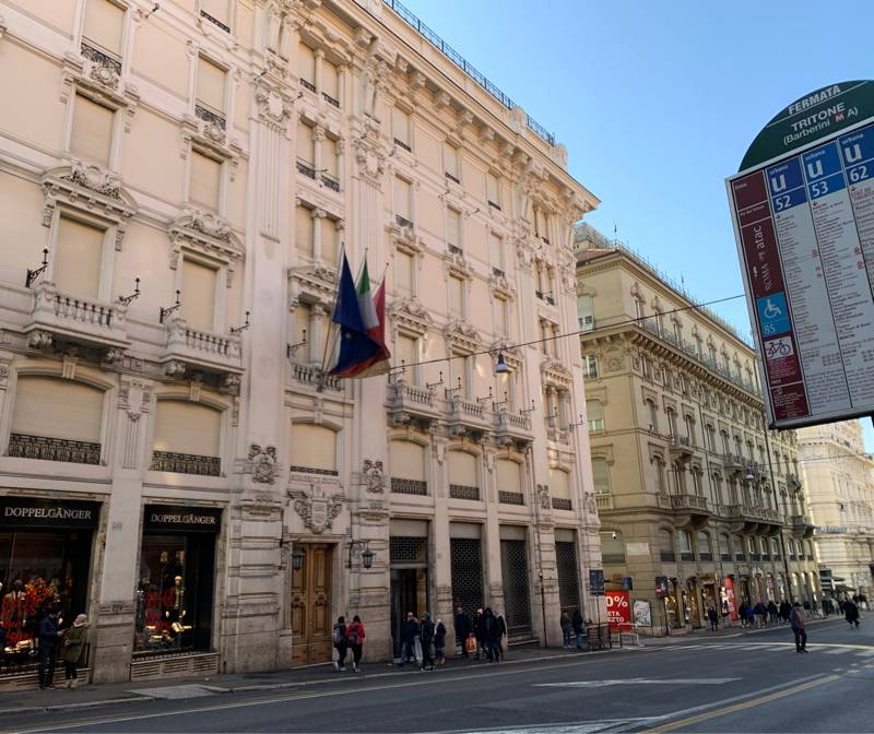 Fotosegnalazione di Roma