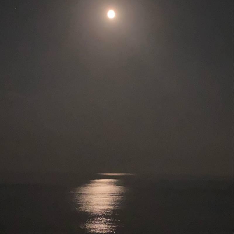 Moon on the sea Savona