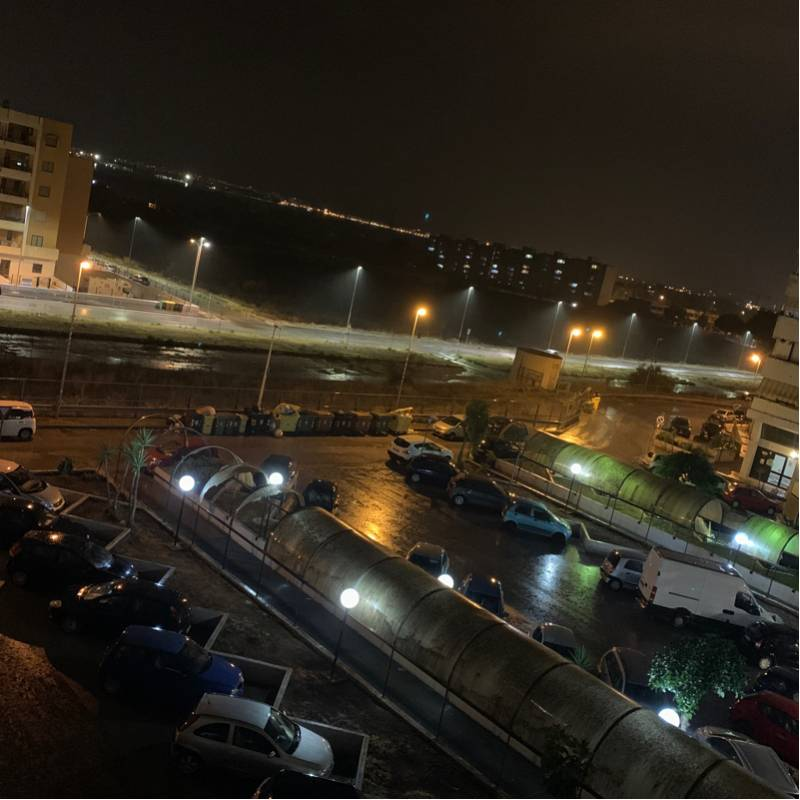 Taranto pioggia forte