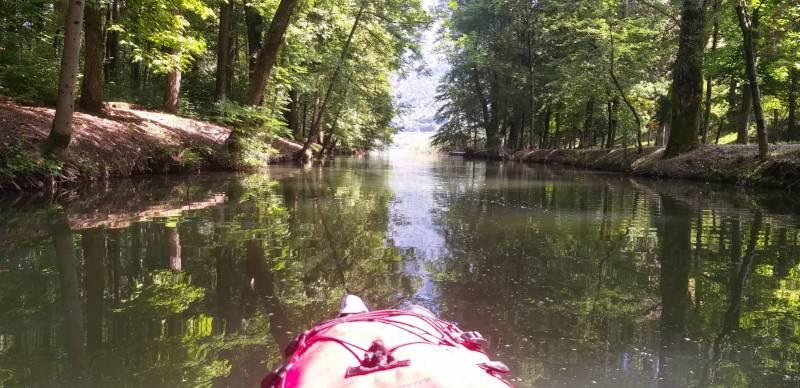 in giro tranquillo con kayak per il lago di endine gaiano settembre 2020