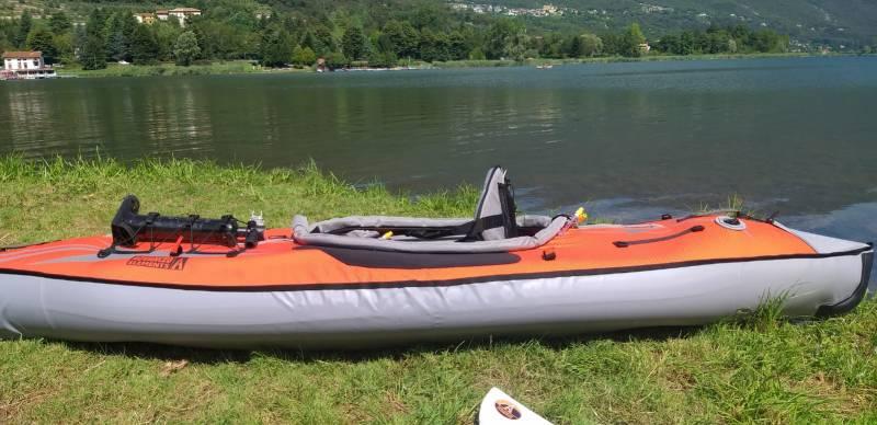 Lago di endine gaiano pronti per un bel giro in kayak settembre 2020