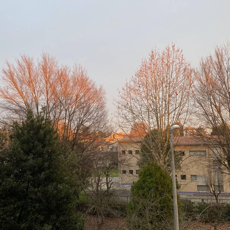 Tramonto a Padova