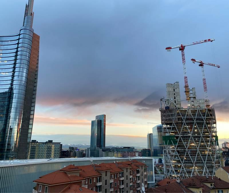 Milano garibaldi - alba