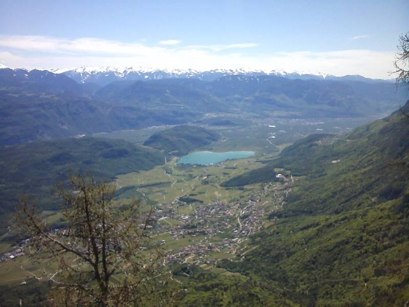 panorama dal monte Penegal