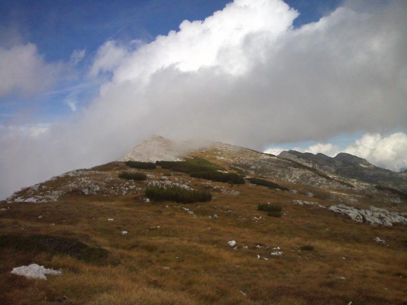 verso cima Portule