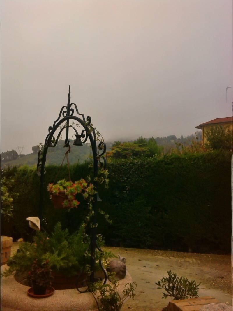 Chieti nebbia