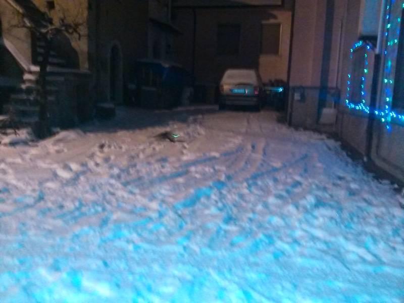 La stupenda neve