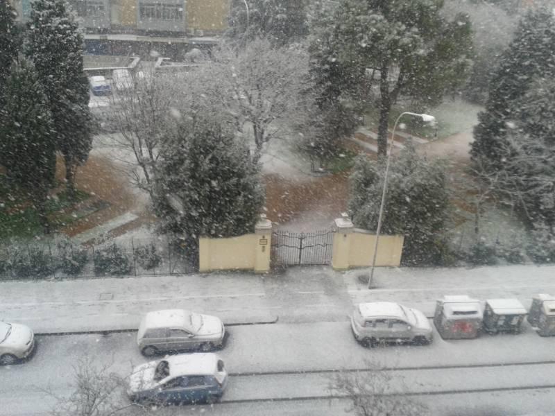 Bologna con la neve