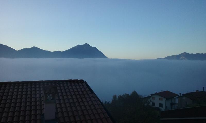 muro di nebbia