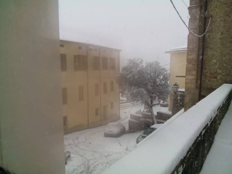 Neve a Cosenza