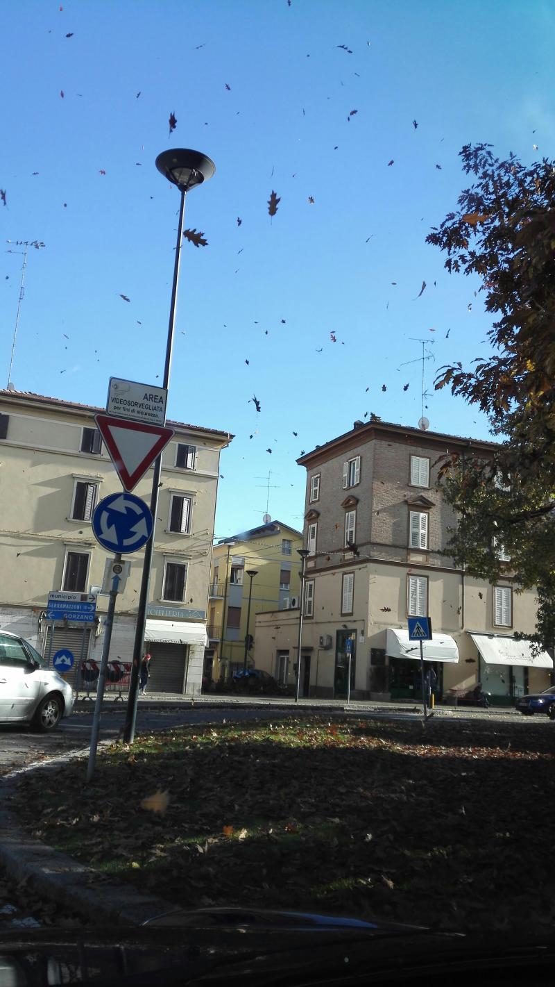autunno a Maranello