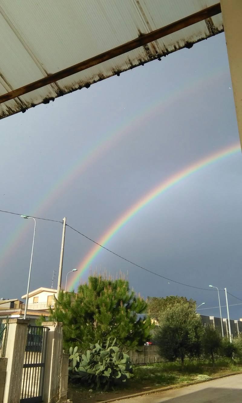 doppio arcobaleno-3 aprile