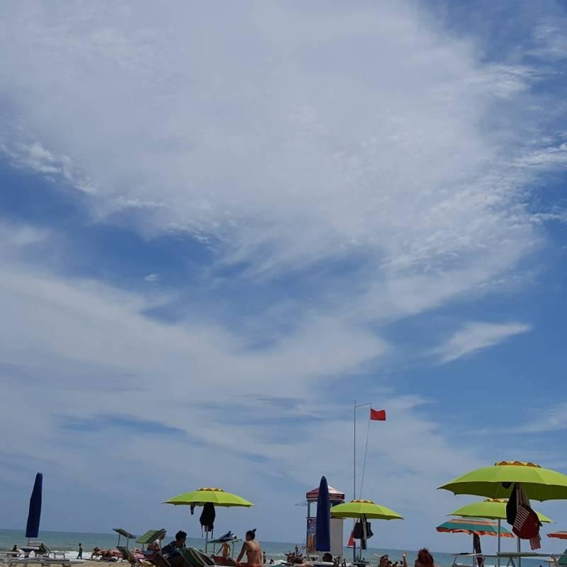 Bella giornata di sole lievemente ventilata