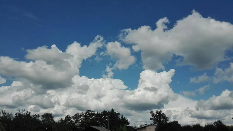 Giochi di nuvole a ghemme