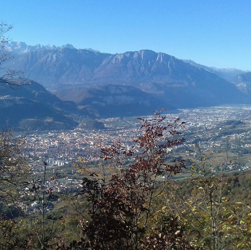 Foto Meteo: Panorama Di Trento « 3B Meteo