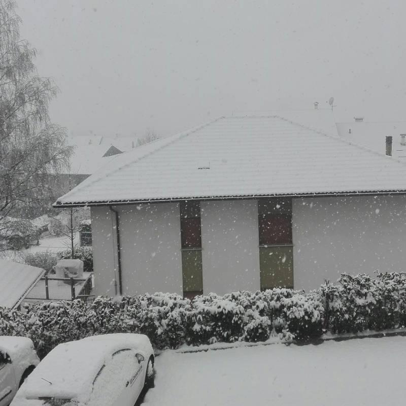 1 gennaio con la neve
