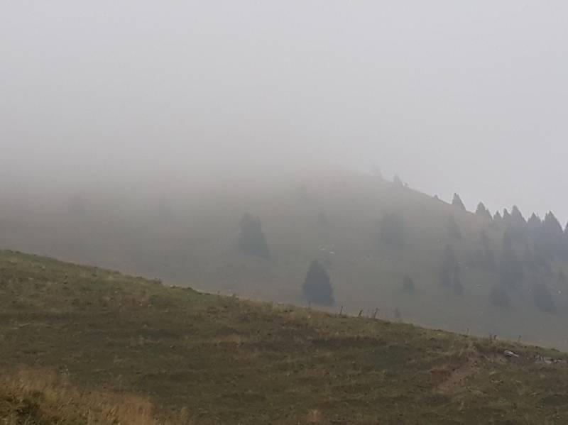 Nebbia a 1519 mt.
