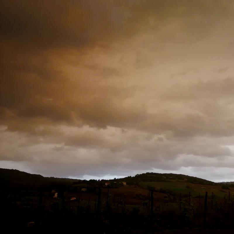 Tempesta di scirocco