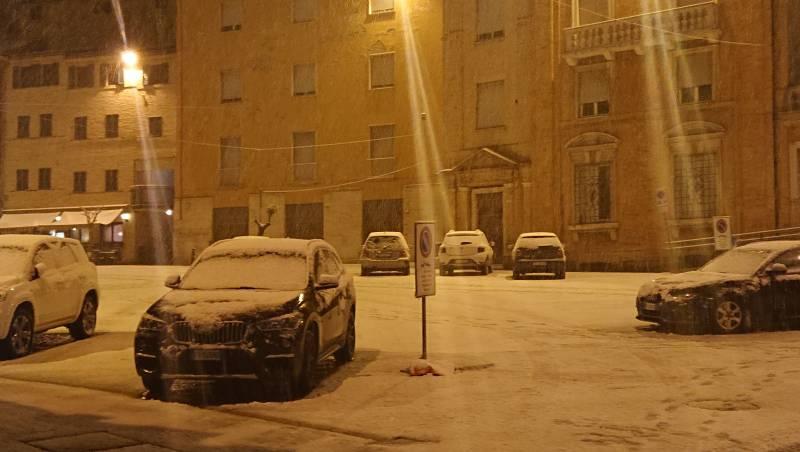 Prima neve inverno 2018