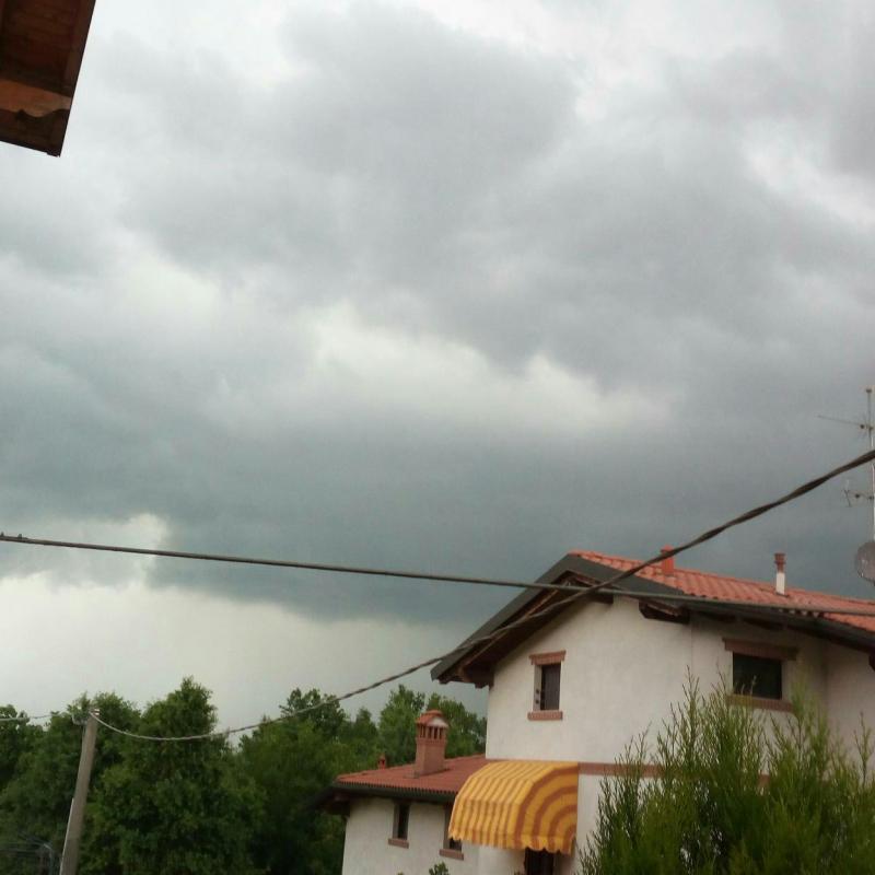 Brutto temporale in arrivo