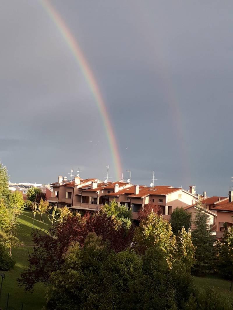 Arcobaleno dopo il temporale.